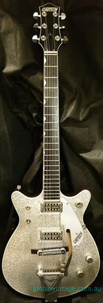 ~SOLD~Gretsch Japan `00 Model 6129-62 Silver Jet