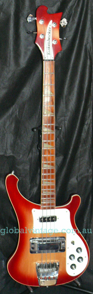 ~SOLD~Rickenbacker U.S.A. `00 Model 4003 Bass - Fireglo