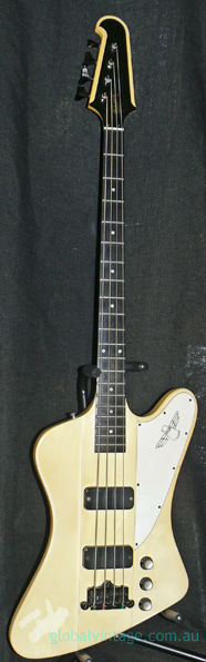~SOLD~Gibson U.S.A. `00 Thunderbird Bass - White