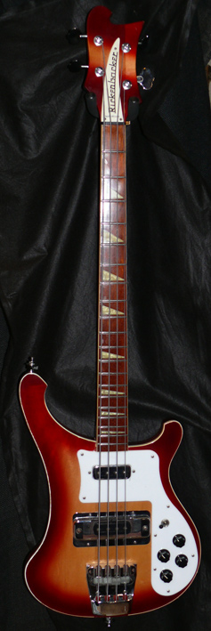 Rickenbacker U.S.A. `01 Model 4003 Bass - Fireglo