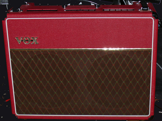 ~SOLD~VOX U.K. AC30-TBX Limited Edition Red Tolex