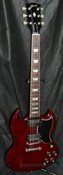 ~SOLD~Gibson U.S.A. `07 `61 SG reissue -cherry red