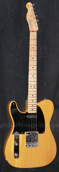 ~SOLD~Fender U.S.A. `07 `52 Telecaster R.I. lefty left handed