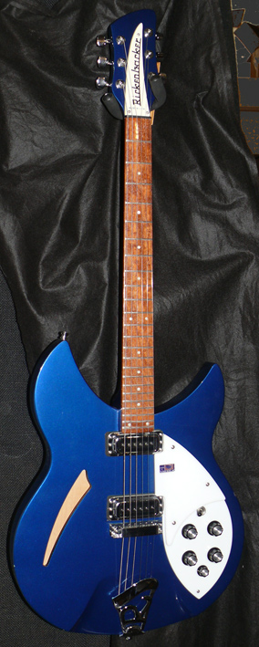 ~HOLD~Rickenbacker U.S.A. `08 Model 330 MidnightBlue