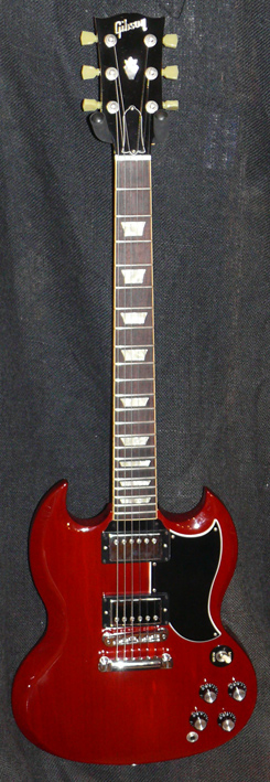 Gibson U.S.A. `61 Reissue SG- Cherry Red