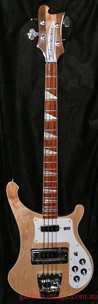 ~SOLD~Rickenbacker U.S.A. `10 Model 4003 MapleGlow