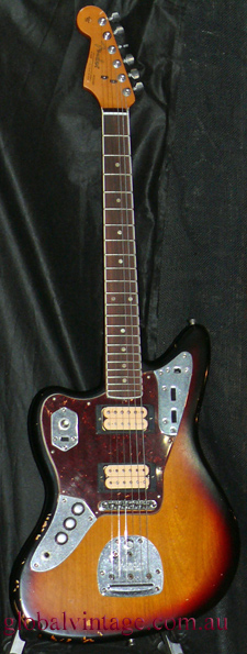 ~SOLD~Fender Mexico N.O.S. JG66=KC Kurt Cobain Jaguar reissue