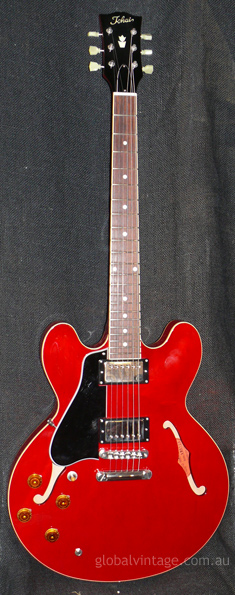 Tokai Japan `13 ES148L Cherry Left Handed 335 style