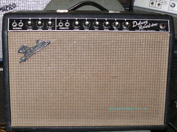 ~SOLD~Fender U.S.A. `66 Deluxe Reverb Amp