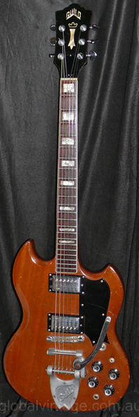 ~SOLD~Guild U.S.A. `73 S-100 Natural