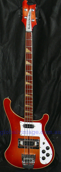 Rickenbacker U.S.A. `73 Model 4001 Bass-Fireglo