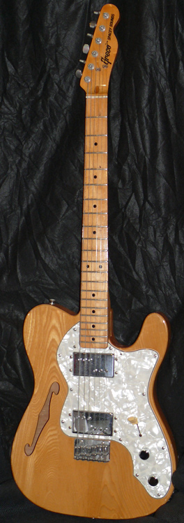 Greco Japan `77 Spacey Sounds Thinline TL type
