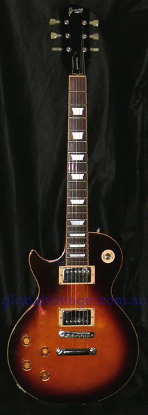 ~SOLD~Greco Japan `78 Les Paul Standard type LEFT HANDED