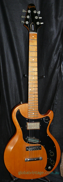 ~SOLD~Gibson U.S.A. `78 Marauder - natural