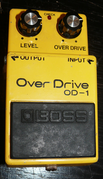 BOSS Japan `78 OD-1 Silver screw
