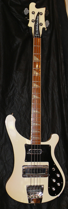 ~SOLD~Rickenbacker U.S.A. `78 Model 4001 Bass - White