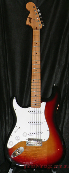 ~SOLD~Greco Japan `79 ST type _Large Headstock `68-71 4 bolt typ