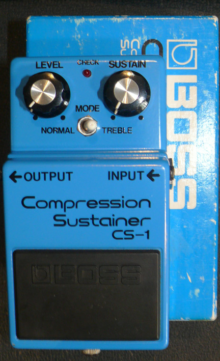 ~SOLD~BOSS Japan `80 CS-1 Compression Sustainer w/box