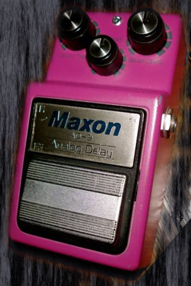 Maxon Japan `82 AD-9 orig issue Analog Delay