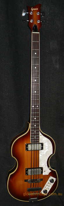 Greco Japan `83 VB Violin style Bass