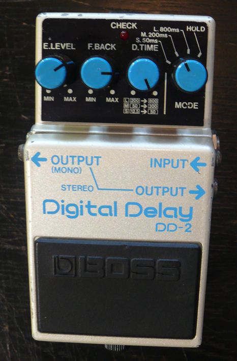 BOSS Japan `84 DD-2 Digital Delay