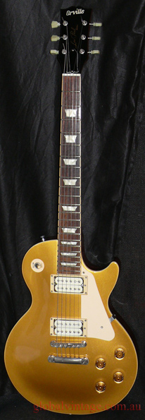 ~SOLD~Orville Japan `98 Les Paul Goldtop