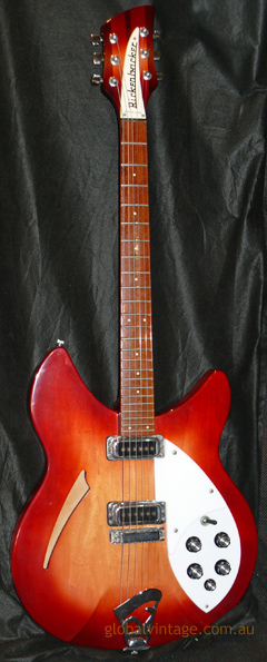 ~SOLD- Rickenbacker U.S.A. `90 Model 330 Fireglo
