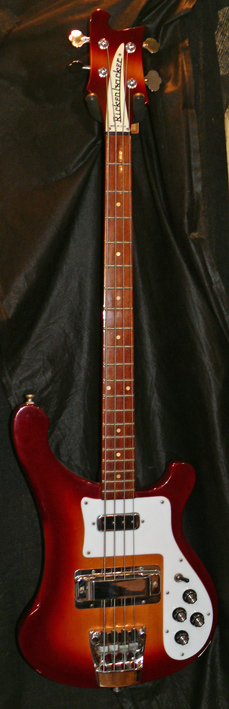 Rickenbacker U.S.A. `89 Model 4003S Fireglo with case