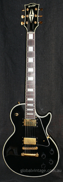 "Orville Japan `94 Les Paul Custom ""Black Beauty"""