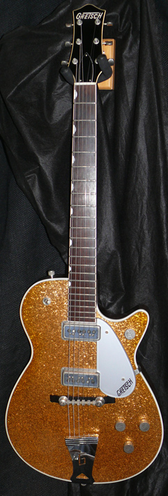 Gretsch Japan `96 Gold Sparkle Jet