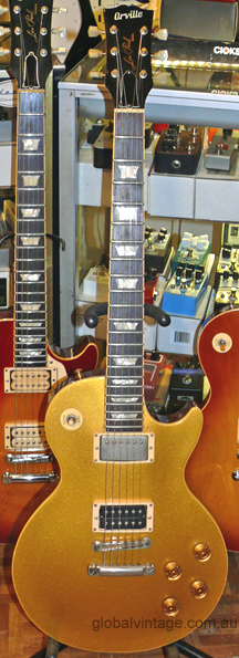 Orville Japan `95 Les Paul Goldtop