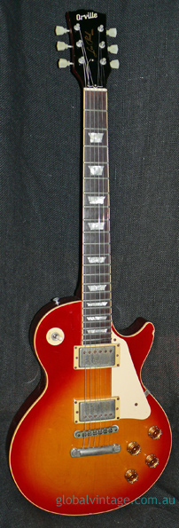 Orville Japan `95 Les Paul Standard Cherry Sunburst