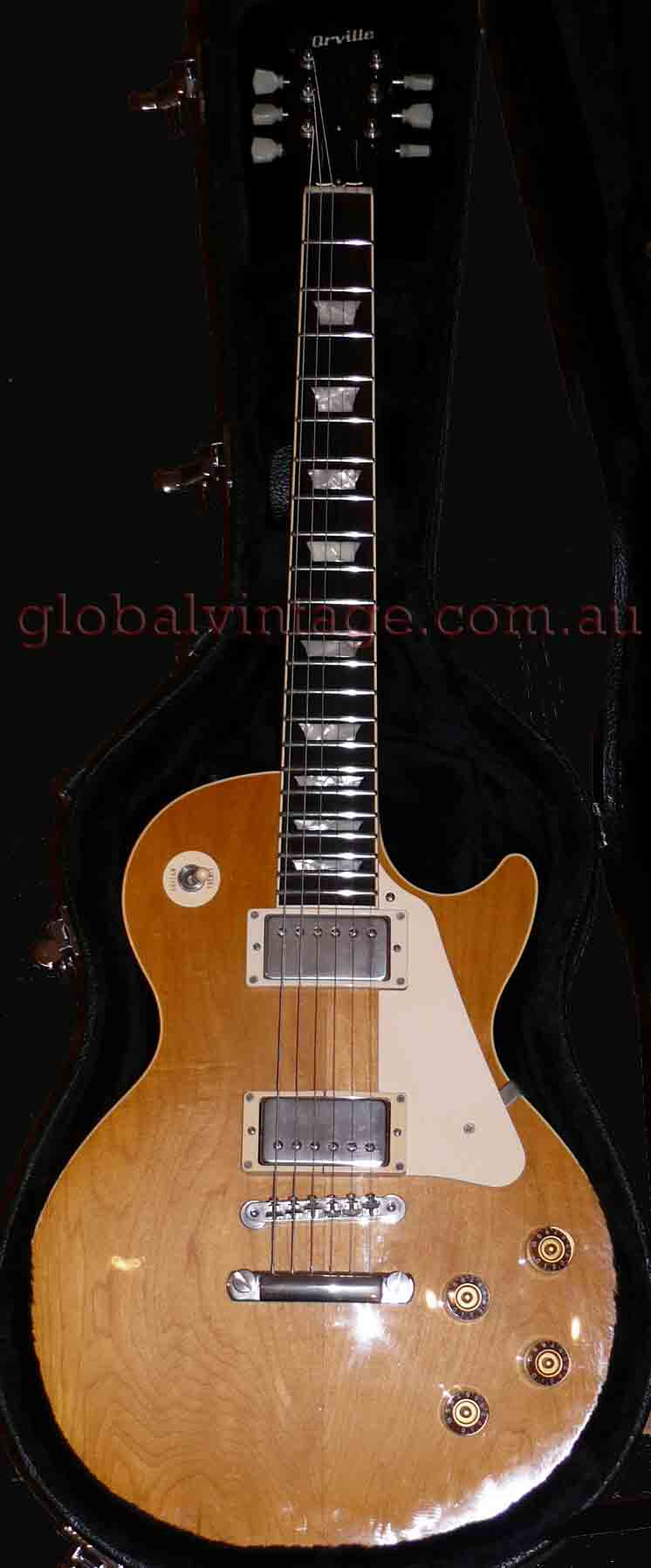 ~SOLD~Orville Japan `95 Les Paul Standard- Plain Top