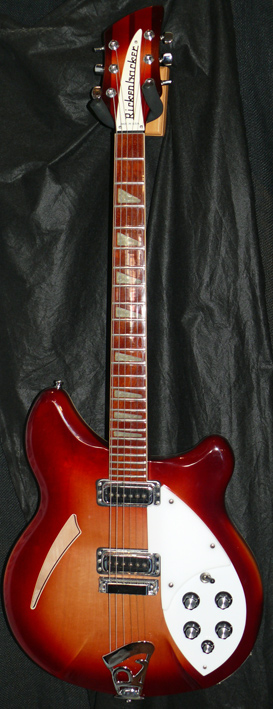 ~SOLD~Rickenbacker U.S.A. `96 Model 360 Fireglo