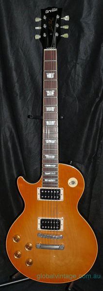 ~SOLD~Orville Japan Left Handed Les Paul Standard Plaintop lefty