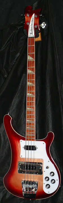 Rickenbacker U.S.A. `98 Model 4003 Bass Fireglo