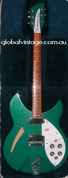 ~SOLD~Rickenbacker USA `00 Model 330- Turquoise