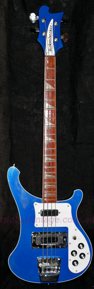 ~SOLD~Rickenbacker U.S.A. `02 Model 4003 Midnight Blue