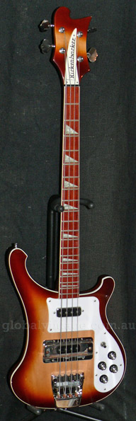~SOLD~Rickenbacker USA `03 Model 4003 Montezuma Brown