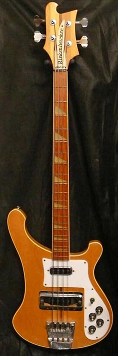 Rickenbacker U.S.A. `82 Model 4001 Bass. MapleGlo