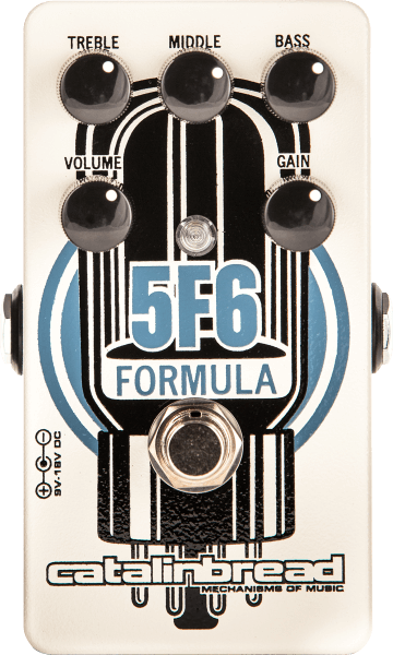 Catalinbread Formula 5F6 - Bassman voiced Overdrive