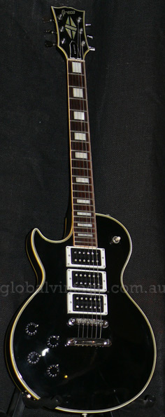 ~SOLD~Greco Japan `77 Les Paul Custom type - LEFT HANDED