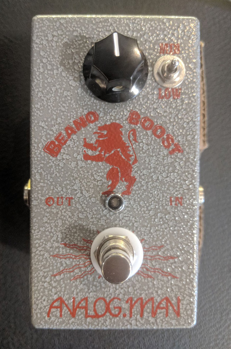 ~SOLD OUT~Analog Man Beano Boost w/Mullard OC type transistor