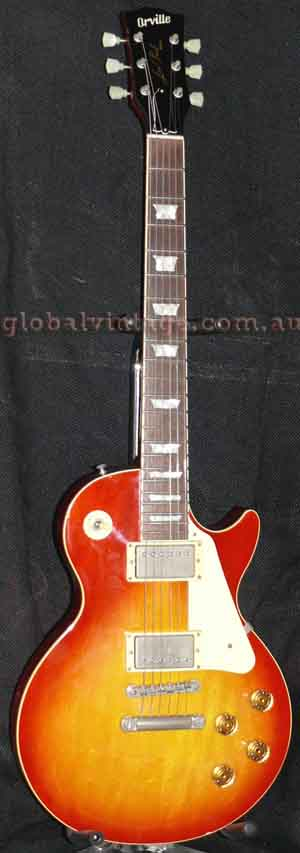 "~SOLD~Orville Japan `94 Les Paul Standard ""Cherryburst"""