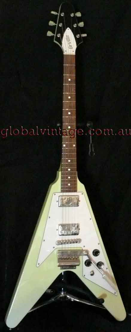 ~SOLD~Orville Japan `67 Flying V R.I. Custom Colour