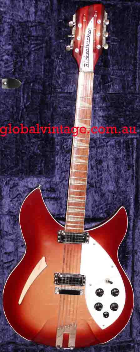 ~SOLD~Rickenbacker U.S.A. Model 360/12 V64 FireGlo
