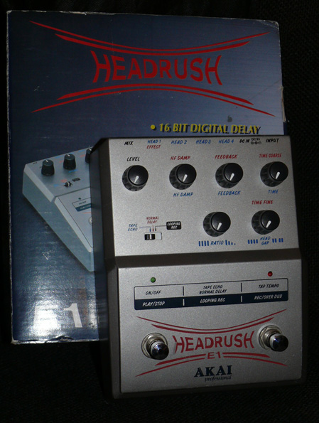 Akai E1 Headrush