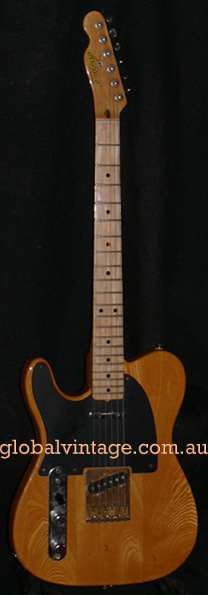 Aria Japan `80 Telecaster type LEFT HANDED Lefty Tele