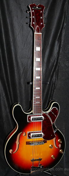 ~SOLD~Aria Diamond `60's Hollowbody