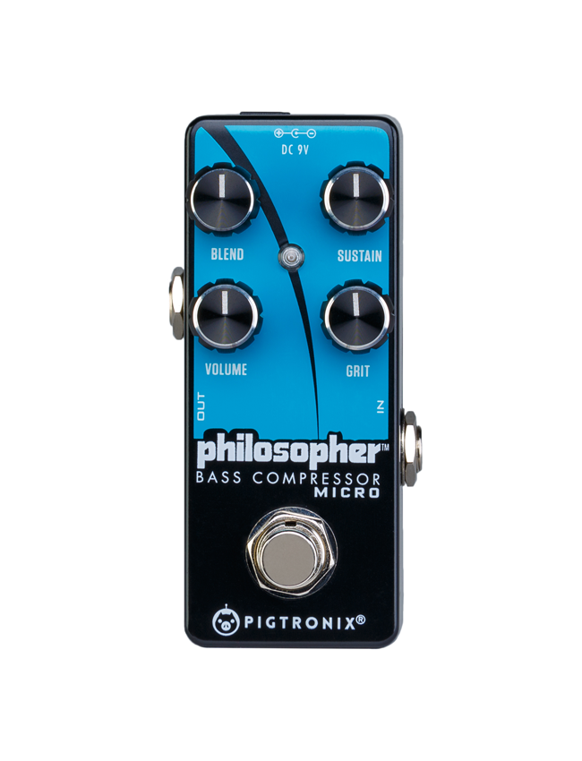 Pigtronix Philosopher's Bass Compressor Micro